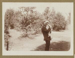Fotografia, Tadeusz Wenda zsynem Jerzym, 1928, papier, zezbiorów prywatnych